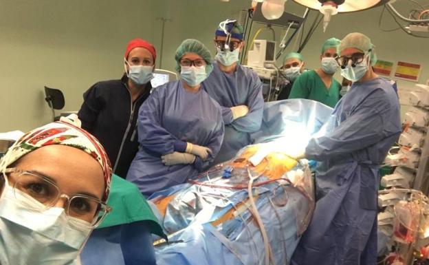 Nochebuena de récord en La Arrixaca con ocho trasplantes de órganos