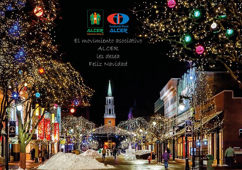 El movimiento asociativo ALCER les desea Feliz Navidad