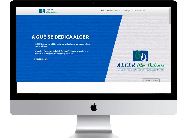 ALCER Illes Balears pone en marcha su nueva web