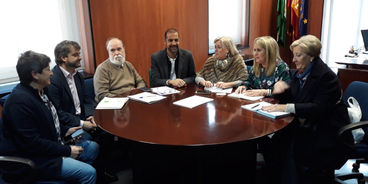 Reunión de ALCER Onuba y Federación con el Ayuntamiento y Delegación Territorial de Huelva
