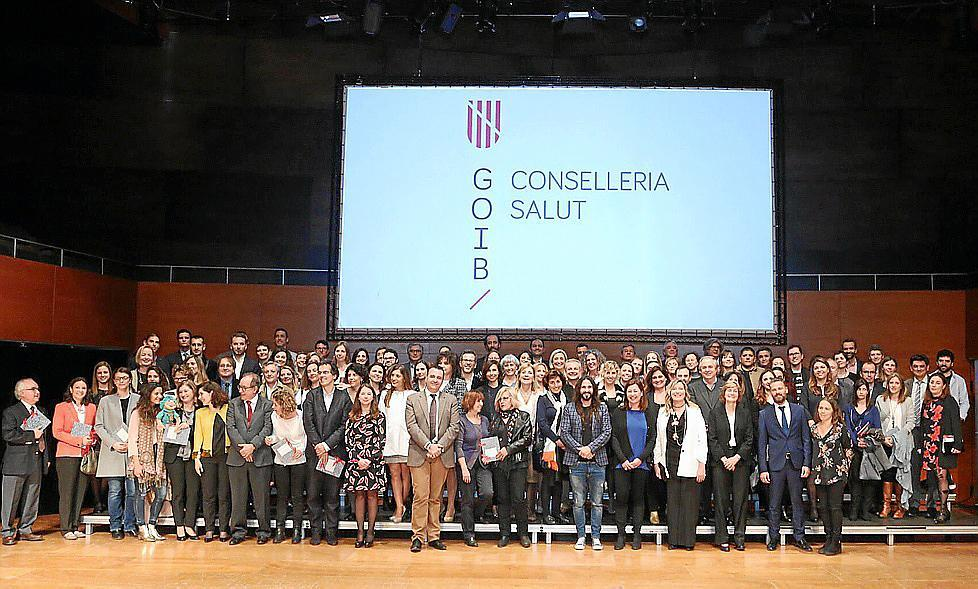 La gran fiesta de la sanidad de Baleares premia a ALCER Illes Balears