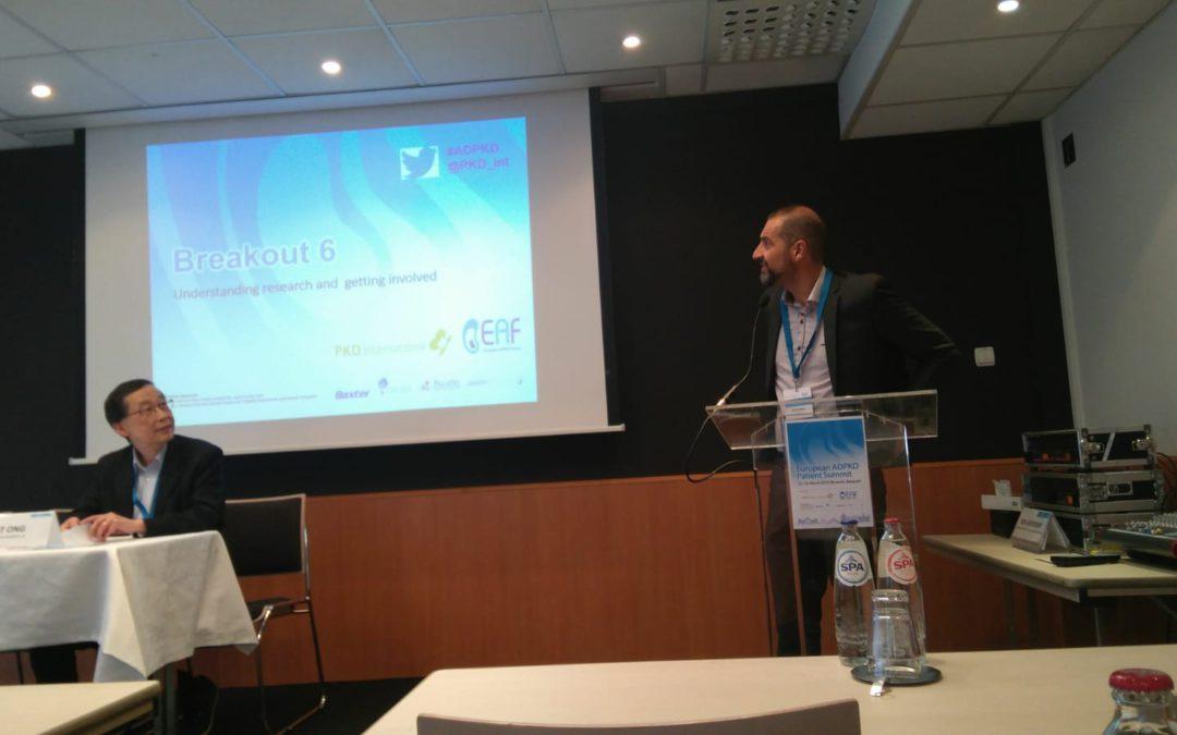 Cumbre europea frente a la poliquistosis renal