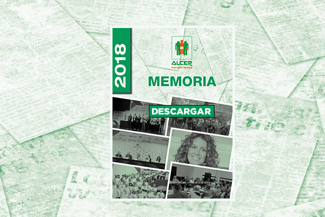 Memoria 2018 Federacion Nacional ALCER