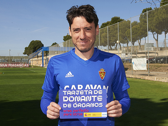 El Real Zaragoza también se une a ALCER en el reto de la donación de órganos