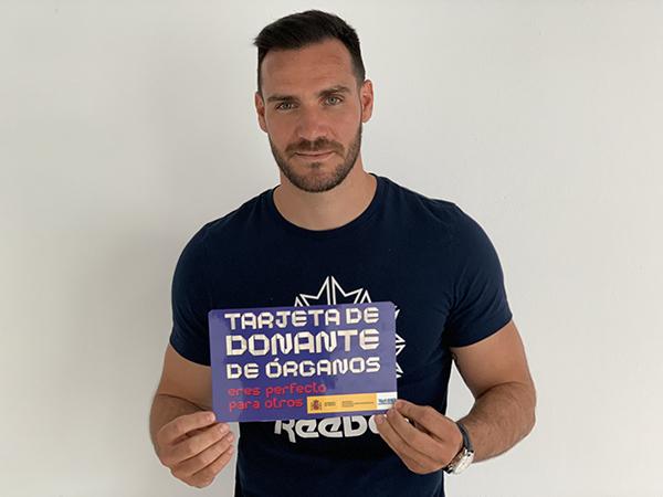 Saúl Craviotto abanderado del Día Nacional del Donante de Órganos 2019