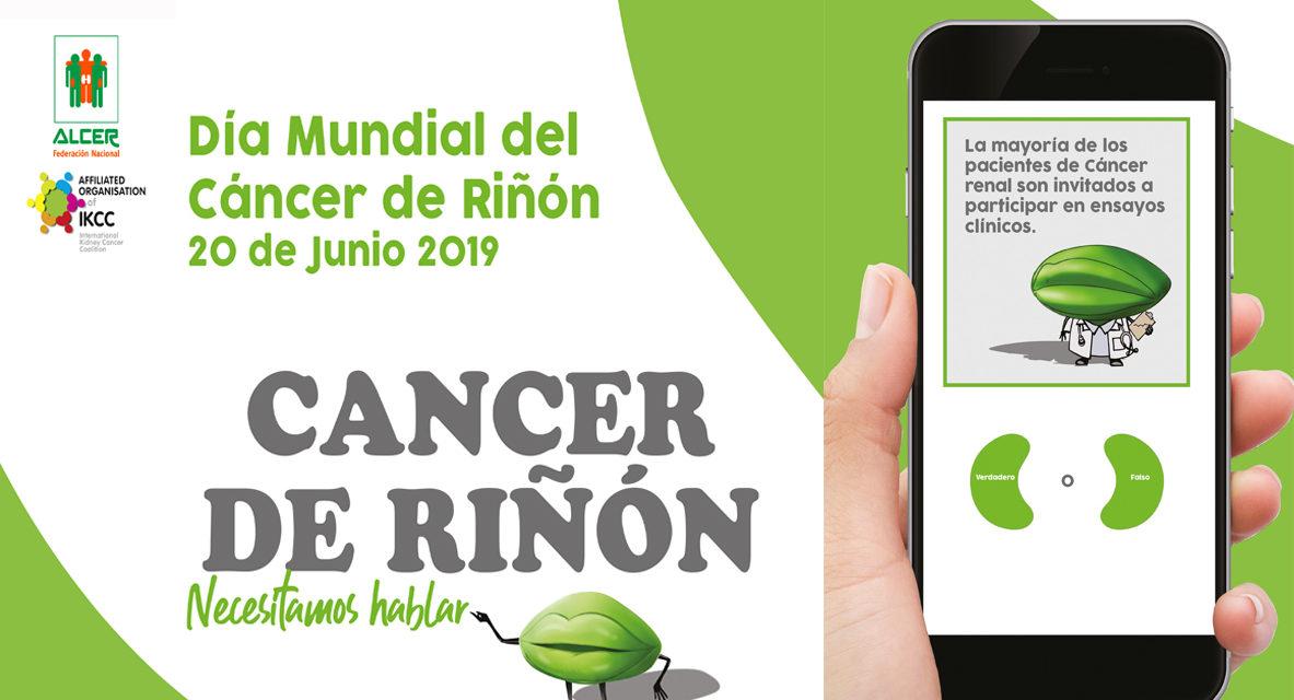 20 de Junio de 2019: Día Mundial del Cáncer Renal