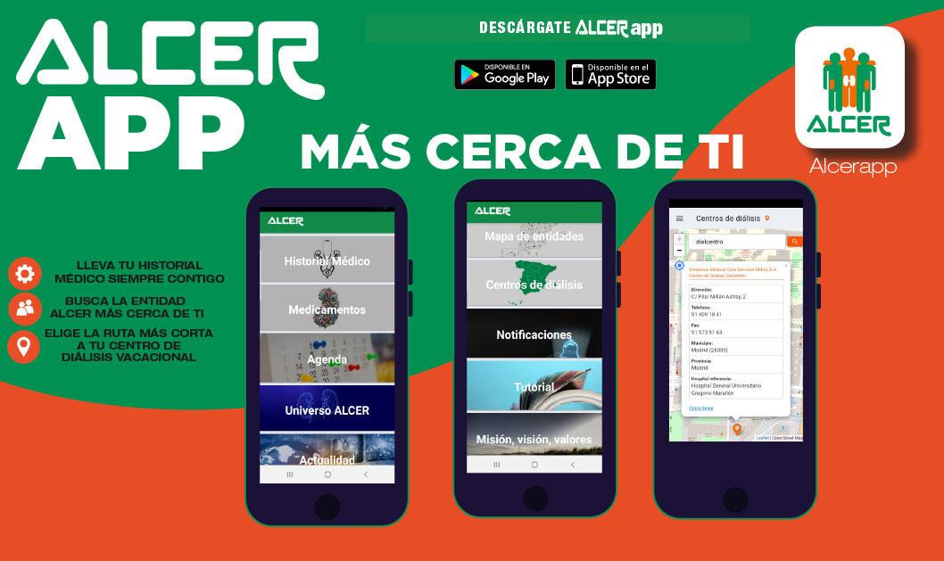 AlcerApp: Ya disponible en PLAYSTORE y APP STORE