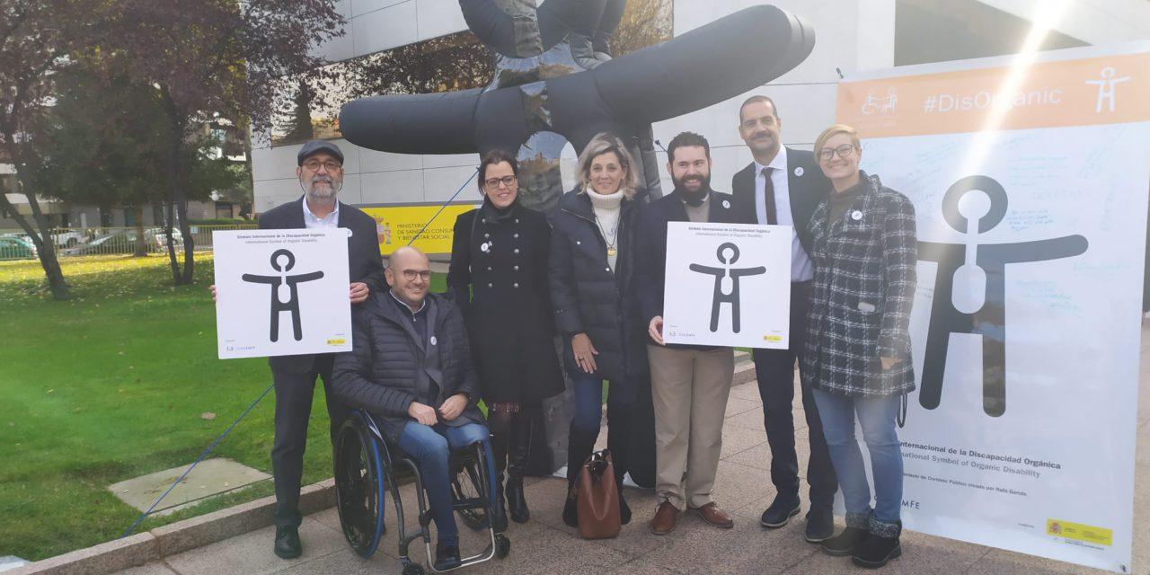 COCEMFE presenta el Símbolo Internacional de la Discapacidad Orgánica