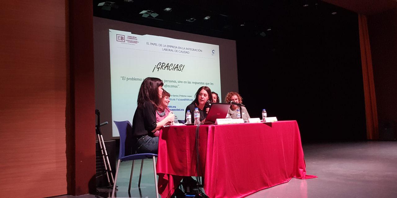 """XI Jornada de la Discapacidad en el Centro Cultural Nicolás Salmerón, bajo el lema """"Mi Empleo, Mi Derecho"""""""