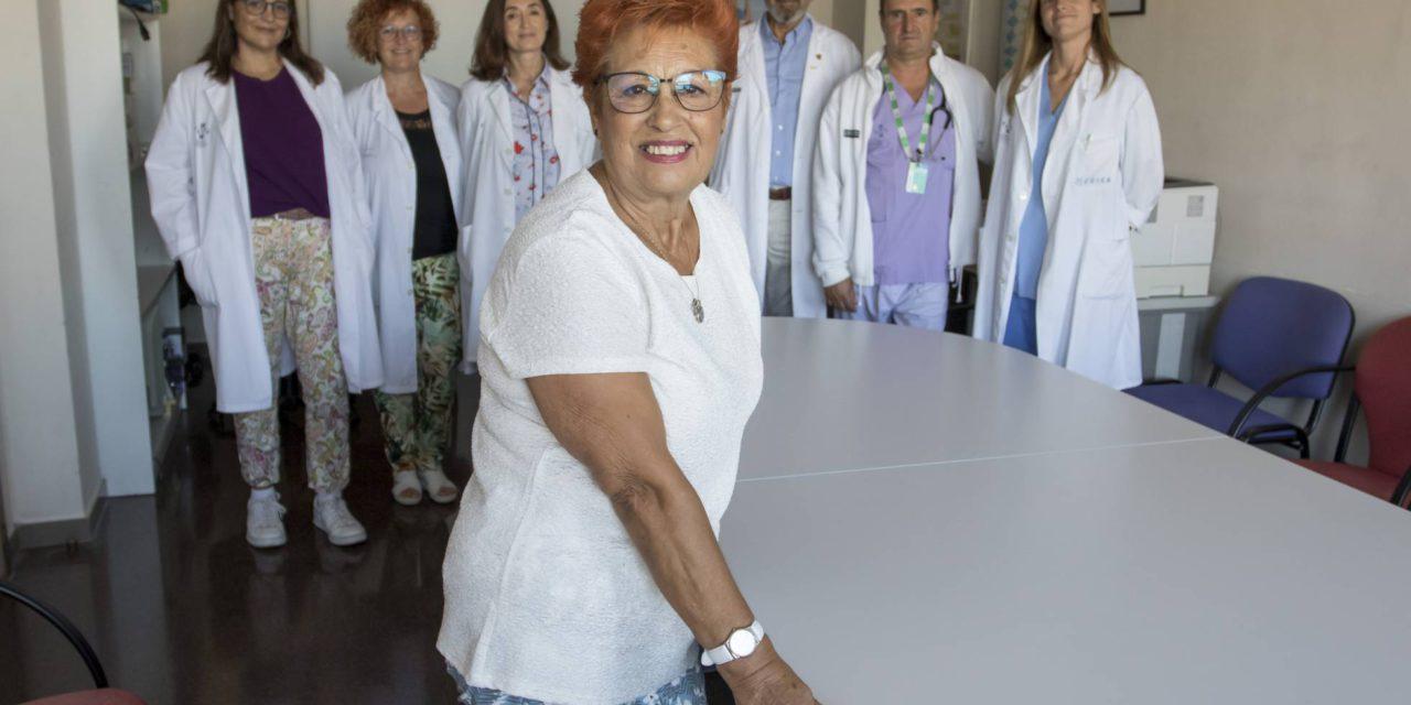 El riñón 'rescatado'de Manuela