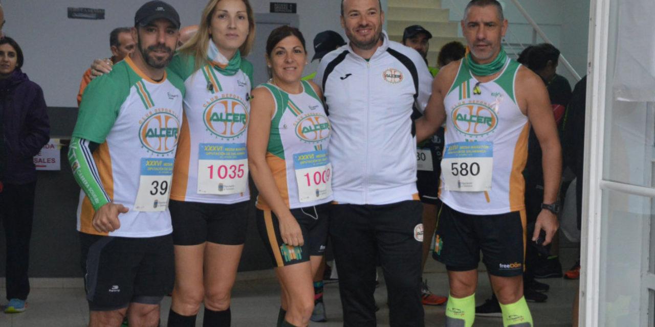El Club Deportivo Alcer, presente en la Maratón de Donosti