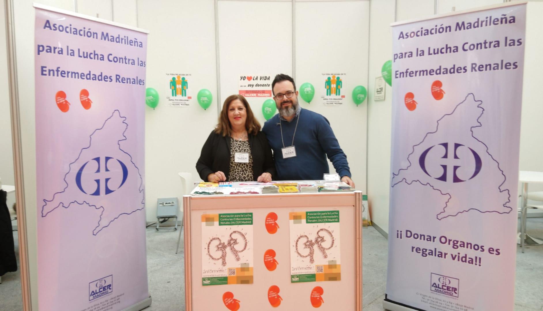 ALCER Madrid participa en la Feria del Asociacionismo