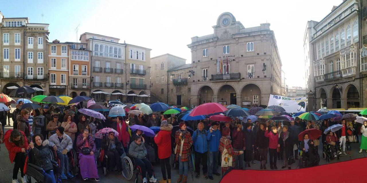 Alcer Coruña celebra el Dia de la Discapacidad con el nuevo logo que nos representa!