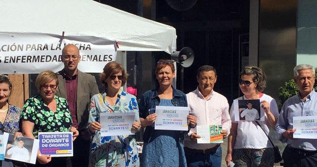 Agradecimiento de ALCER Albacete  a familiares y sanitarios