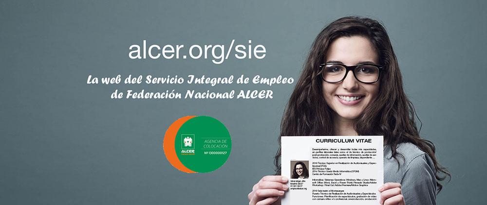 ALCER pone en marcha una nueva web de empleo