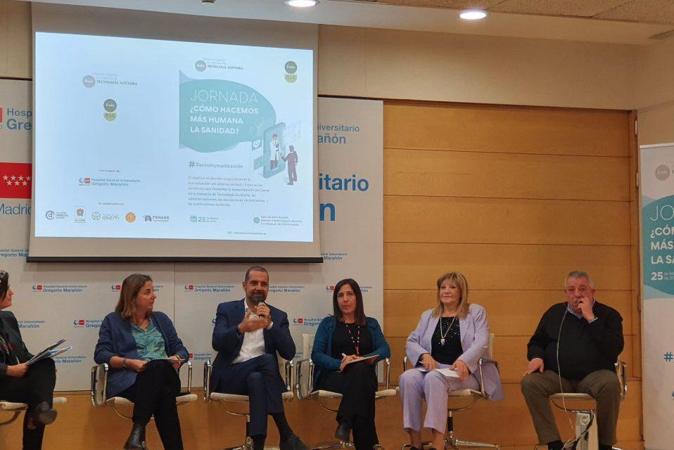 Fenin reúne a la Industria, Asociaciones de Pacientes, Instituciones sanitarias y a la Administración para abordar el valor y los retos de la humanización en el sistema sanitario