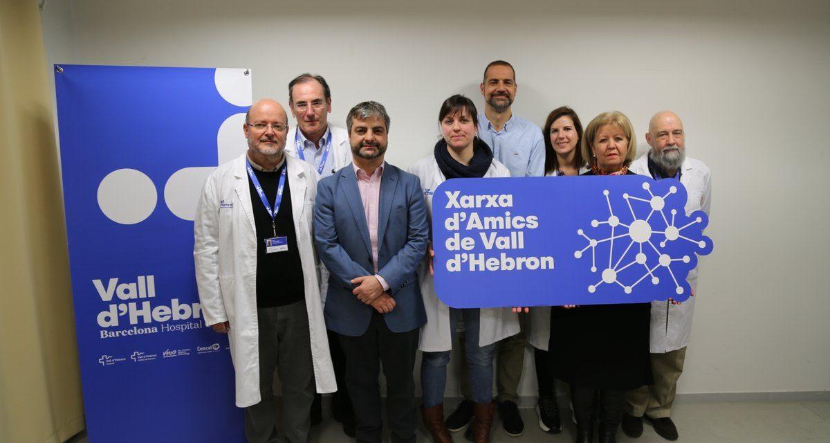 La Fundación Renal ALCER España dona 2400 € al instituto de investigación Vall d'Ebron de Barcelona