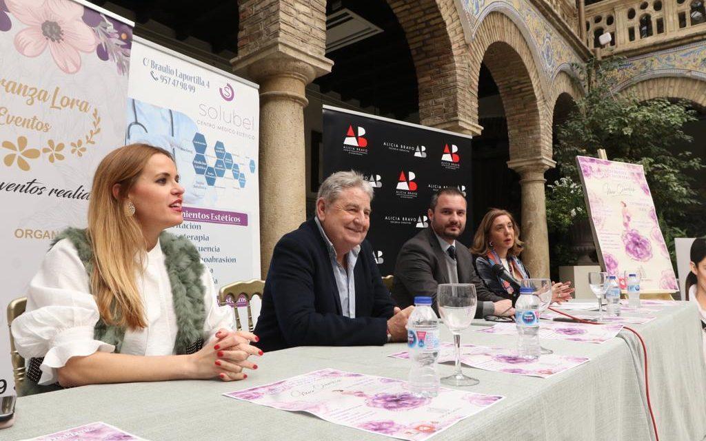 Sara de Benítez muestra el domingo sus nuevos diseños a beneficio de Alcer Córdoba