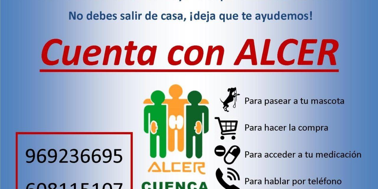 ALCER Cuenca pone en marcha un programa asistencial