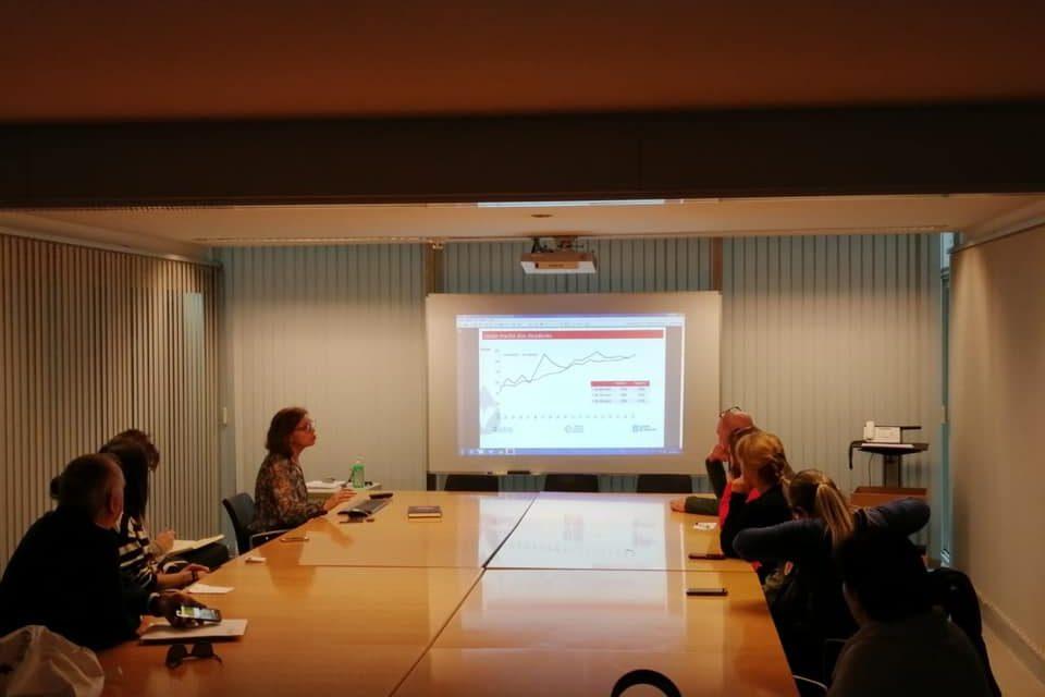 ALCER Pontevedra asiste a la presentación de los datos de la OCT 2019
