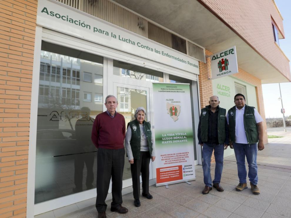 La Seguridad Social rehúsa ceder gratis su vieja sede de Huesca a la asociación Alcer