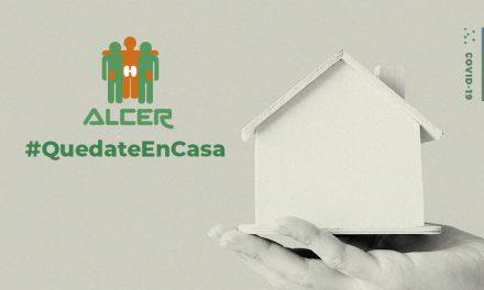 #QuedateEnCasa: ALCER te recuerda lo importante que es quedarse en casa
