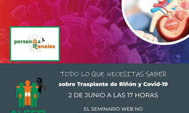 Webinar: Trasplante renal y COVID-19