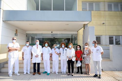 El Ayuntamiento y ALCER donan mascarillas y gel hidroalcohólico a enfermos renales