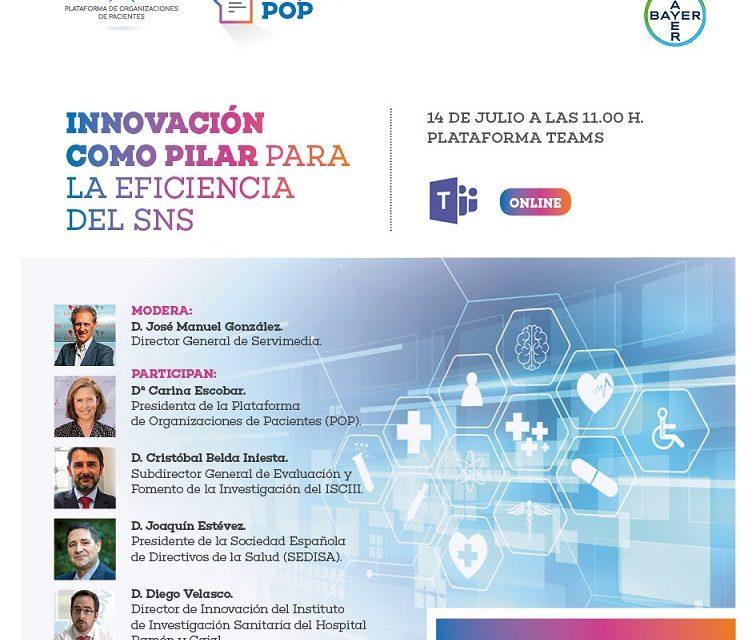 La innovación como pilar para la eficiencia del SNS en el próximo #DesayunosPOP