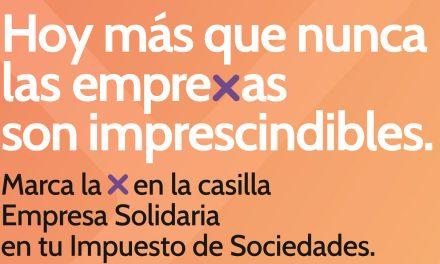 Marca la Casilla Empresa Solidaria en el Impuesto de Sociedades