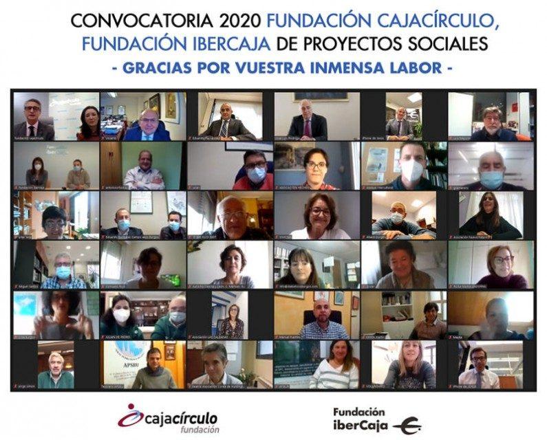 Fundación Cajacírculo y Fundación Ibercaja apoyan los proyectos sociales de 51 asociaciones en Burgos y provincia