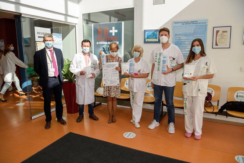 ALCER entrega 4.000 mascarillas FFP2 a los afectados del riñón de Almería