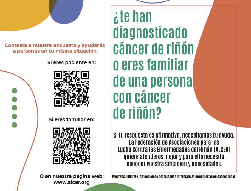 Encuesta UNCOVER sobre cáncer renal