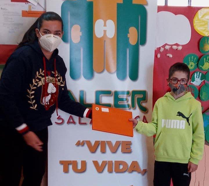 Dos alumnos del Cervantes premiados por la Asociación ALCER
