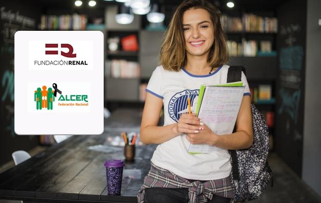 ALCER y la Fundación Renal conceden trece ayudas para estudiantes con Enfermedad Renal Crónica