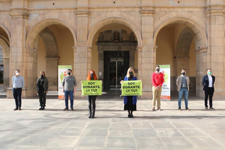 Alcer Castalia une a los grupos municipales de Castelló en torno a la donación de órganos