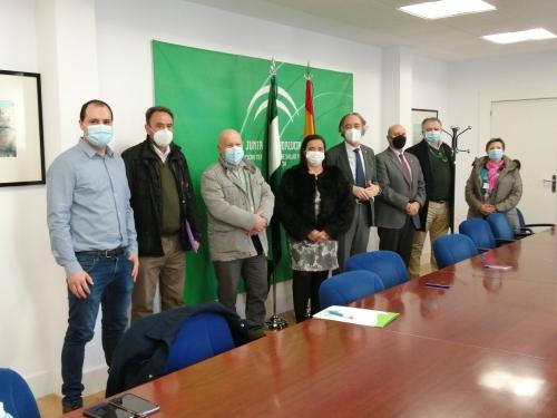 El Hospital Virgen de las Nieves firma convenios de colaboración con ALCER Granada y la Asociación de Pacientes Cardíacos