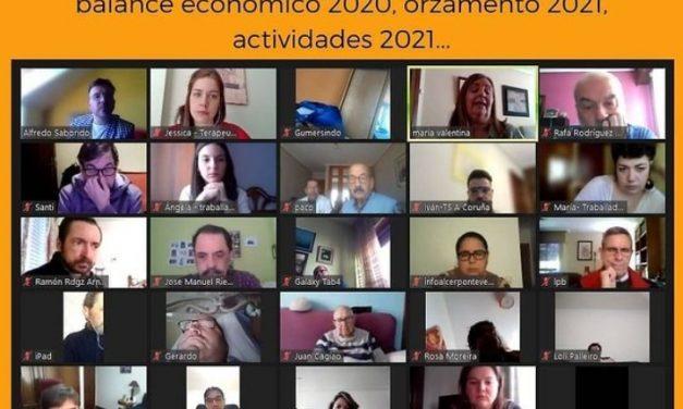Alcer Coruña celebra su Asamblea Anual de forma online con cerca de 60 participantes