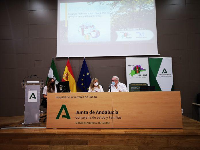 ALCER Málaga presenta a profesionales del Área Sanitaria Serranía de Málaga su proyecto «ALCER en RED»