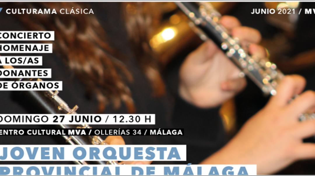 La Diputación y ALCER Málaga organizan un concierto en homenaje a los donantes de órganos