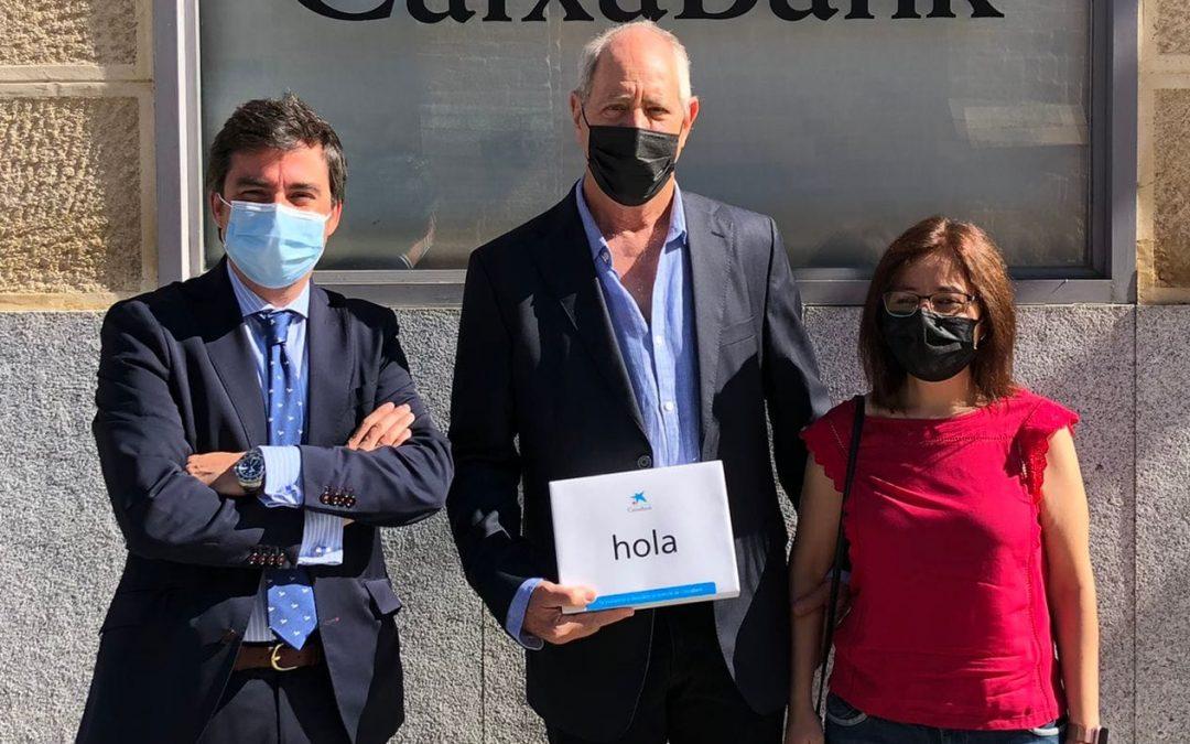 CaixaBank apoya a Alcer con una aportación de 5.000 euros
