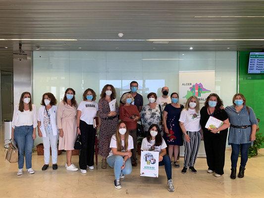 ALCER Málaga presenta al Área Sanitaria Málaga-Axarquía su proyecto 'ALCER en RED'